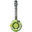 Oppustelig banjo grøn