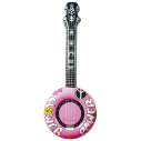 Oppustelig banjo pink