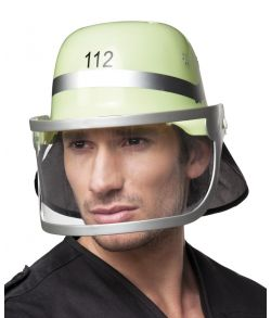 Hjelm med visir 112