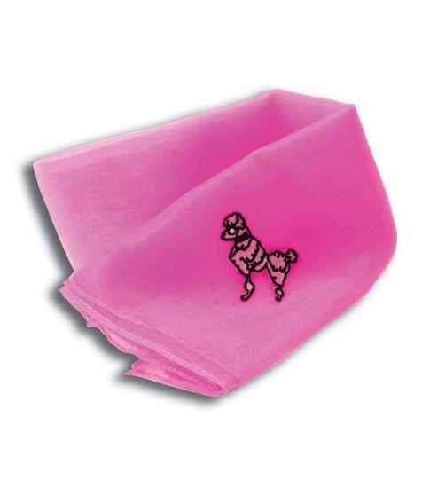 Halstørklæde, pink