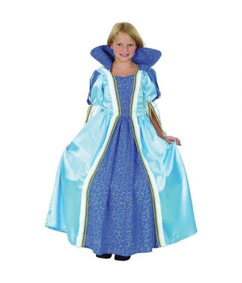 Blå Prinsessekjole
