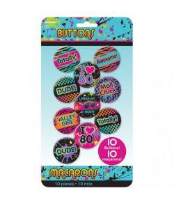 80er badges