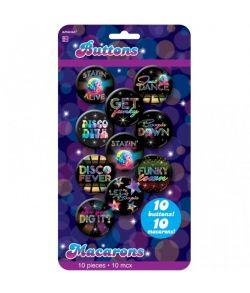 Disco badges