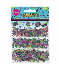 80er konfetti