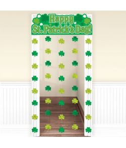 Sankt Patricksdag dørgardin