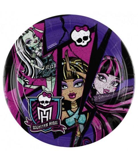Monster High tallerkner