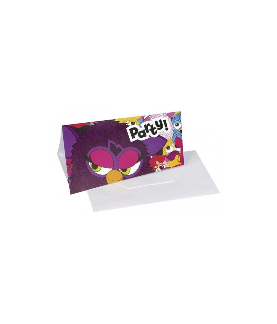 Furby invitationer