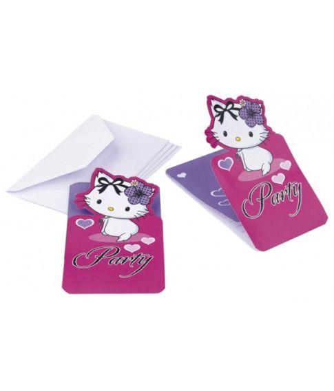 Charmmy Kitty invitationer