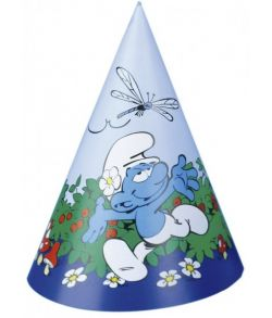 Smølferne hatte, blå