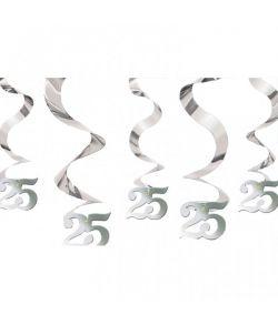 Loftspiral sølv