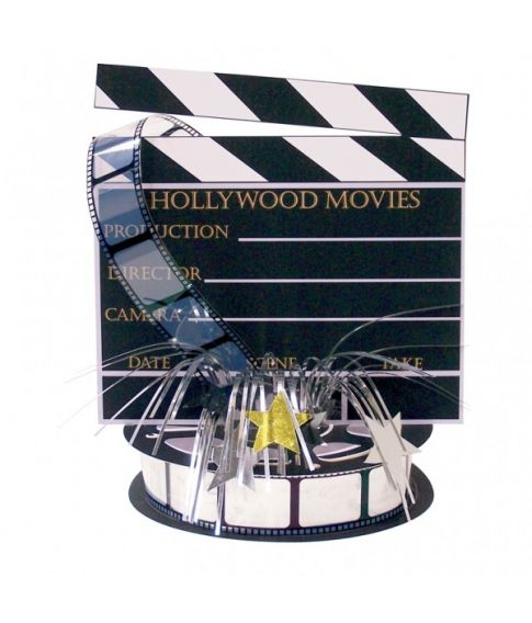 Hollywood borddekoration