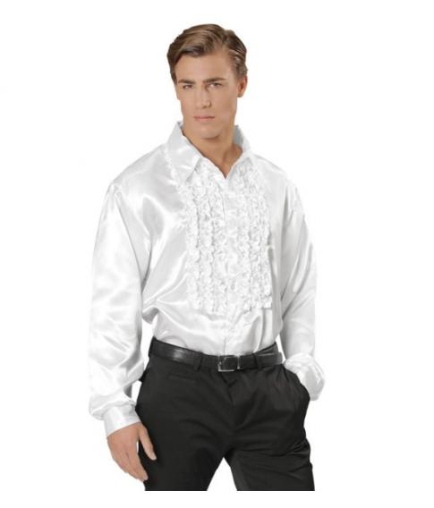 Flæseskjorte hvid