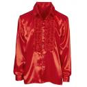 Flæseskjorte rød