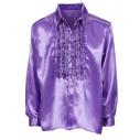 Flæseskjorte lilla