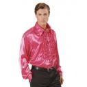 Flæseskjorte pink