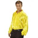 Flæseskjorte Gul