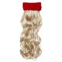 Pandebånd med hår, blond