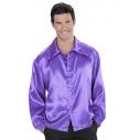 Discoskjorte, lilla