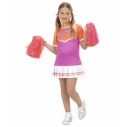 Cheerleader kostume, pink