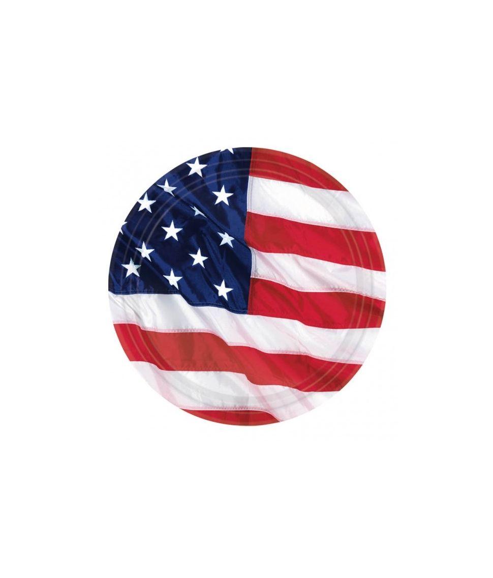 USA tallerkner
