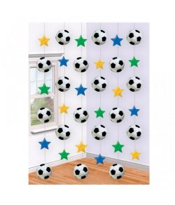 Fodbold loftdekoration