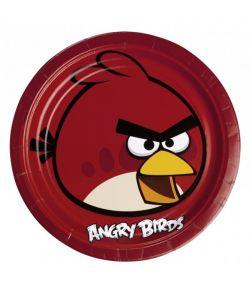 Angry Birds tallerkner 23 cm