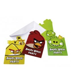 Angry Birds invitationer