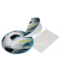 Fodbold invitationer