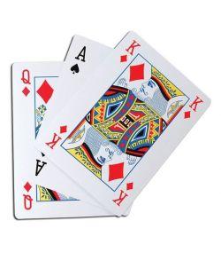 Kæmpe spillekort, A4