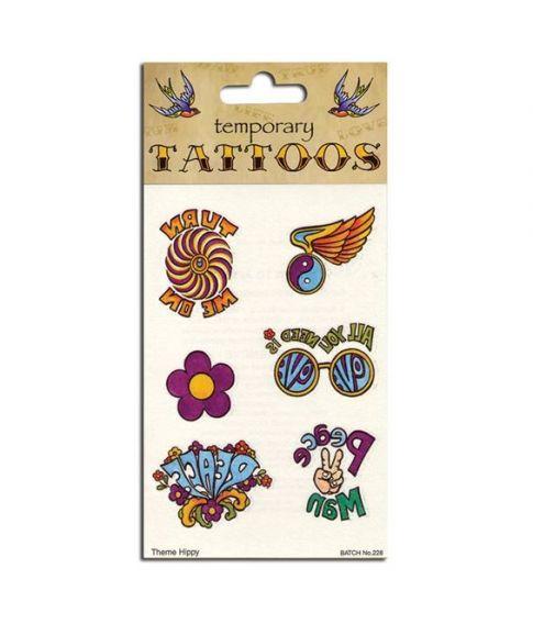 Hippie tatoveringer