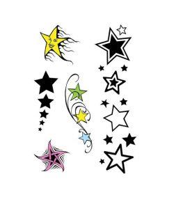 Stjerne tatoveringer