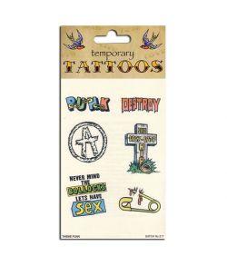 Punker tatoveringer