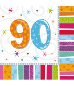 Servietter 90 år