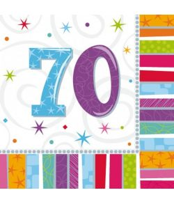 Servietter 70 år