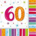 Servietter 60 år