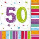 Servietter 50 år