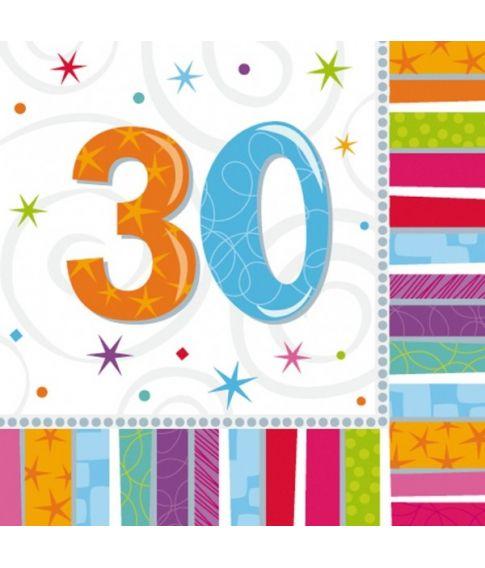 Servietter 30 år