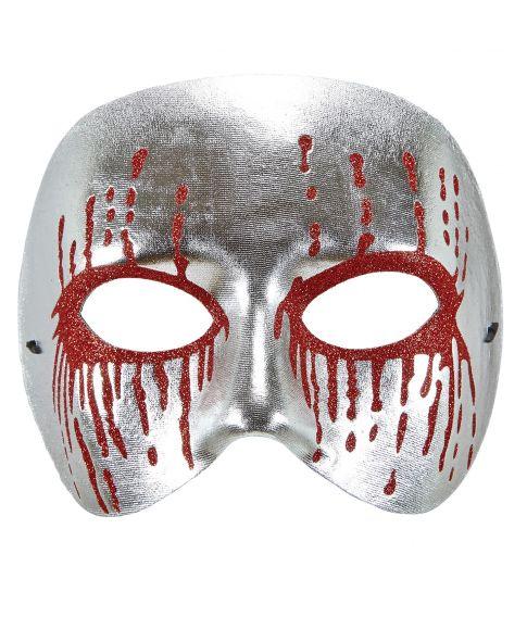 Silver Psycho halvmaske