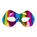 Regnbue halvmaske
