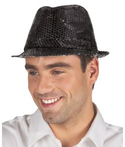 Popstar hat, sort