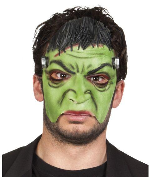Grønt monster maske