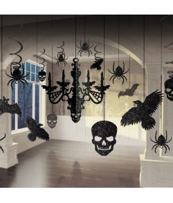Halloween loftdekorationer