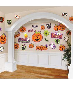 Halloween skilte