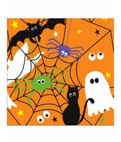 Halloween servietter