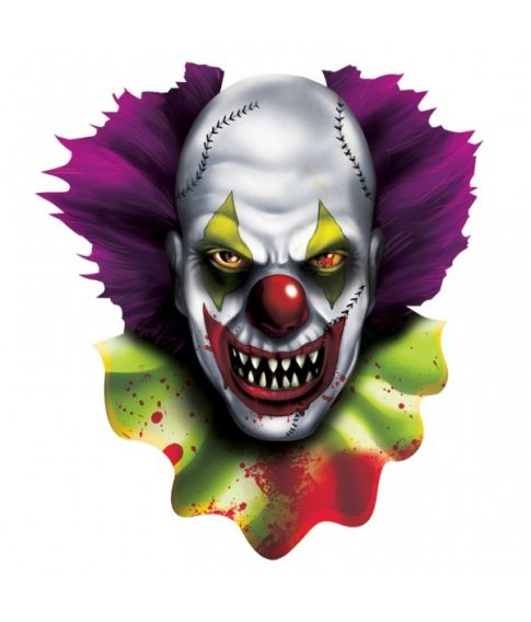 Creepy Clown skilt