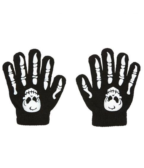 Skelet handsker, barn