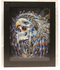 3D effekt billede Indianer