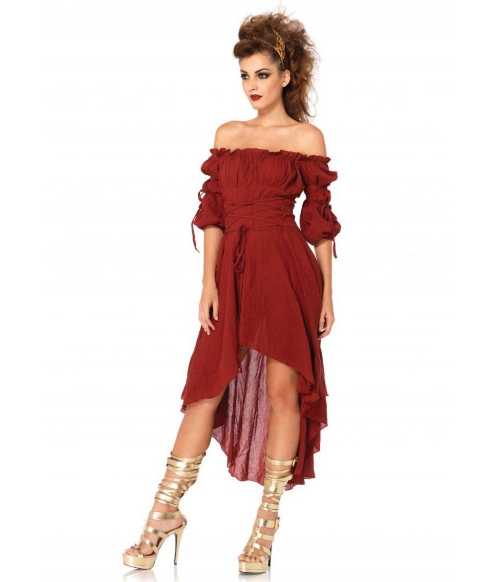 Bordeaux kjole