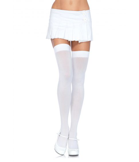 Hvide stockings