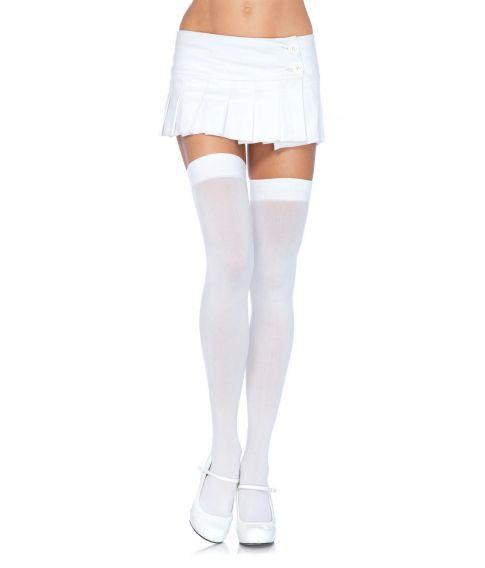 Hvide stockings